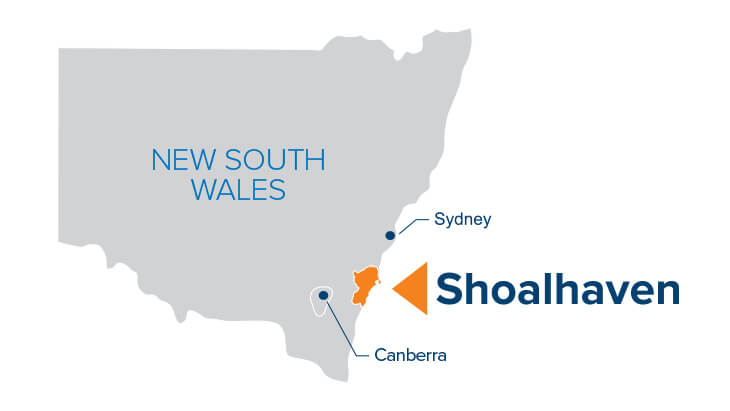 City of Shoalhaven Map